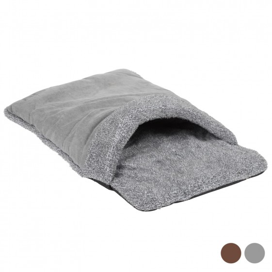 Me and My Pets Grey Cosy Pouch Bed