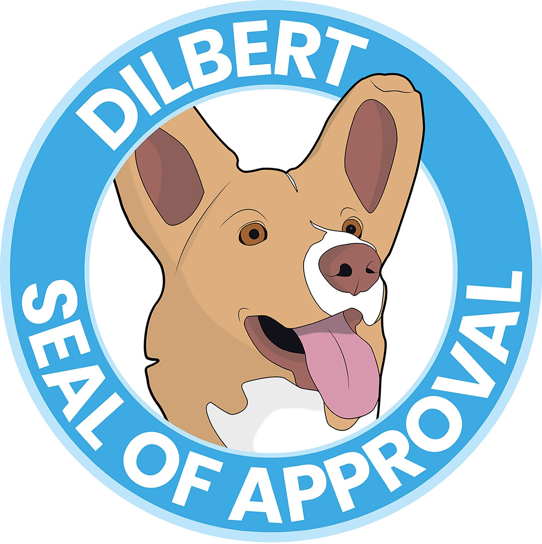 graphic of dilbert seal of approval